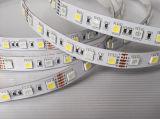 DC12V/DC24V 60LEDs/M luz de tira do diodo emissor de luz de 5050 RGBW