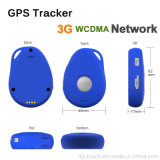 3G de la red mini perseguidor portable del GPS con la comunicación de dos vías (EV-07W)