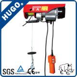 Bewegliche einfache installieren mini elektrische Drahtseil-Hebemaschine