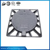 OEM Metal Mold Resin Sand Iron Coated Casting Manhole Cover