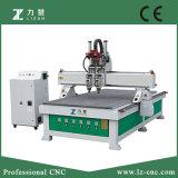 2개의 스핀들 CNC 목공 기계장치 공구