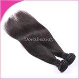 100%インドのRemyの拡張まっすぐなバージンの人間の毛髪