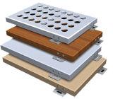 PE/paneles de aluminio con recubrimiento PVDF revestimiento de aluminio sólido de paneles para pared exterior fachada