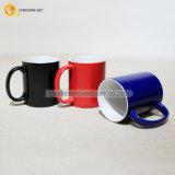 color 330ml que cambia la taza divertida mágica de cerámica para beber