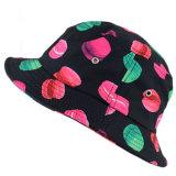 Dor feita sob encomenda chapéu tingido da cubeta da impressão da tela