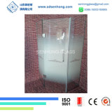 3/8 espace libre a repéré l'oscillation glissant la porte de douche en verre Tempered de Frameless