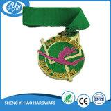 Aleación de zinc Die Casting Plataforma de cobre antiguo Medalla 3D