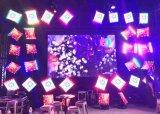 Multifunktions-LED-Bildschirmanzeige, Video u. Beleuchtung u. Bewegung 3 in 1 LED-Bildschirmanzeige