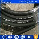 Slang van de Draad van het staal de Spiraalvormige Industriële Hydraulische (4SP/R12)