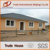 O edifício modular claro da construção de aço do calibre/móvel personalizado/Prefab/pré-fabricaram casas vivas para a família