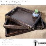 Het Houten Dienblad van de Douane van Hongdao met Verscheidene Stijlen Wholesale_F