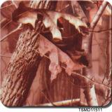 Largeur de Tsautop Tsmd7603 transfert de l'eau de film de Hydrographics de camouflage de 1 mètre