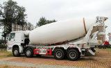 Sinotruk HOWO 8X4頑丈な30 CBMのコンクリートミキサー車のトラック