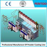알루미늄 팬을%s PTFE 분말 코팅 생산 라인
