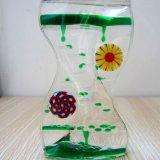 Aceite líquido acrílico colorido reloj de arena (MQ-ACH05).