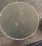 Catalizador metálico de metal en forma de panal sustrato para el escape de automóviles