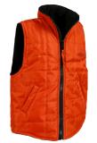 Mulheres de Sunnytex que vestem o revestimento magro Sleeveless acolchoado inverno da veste