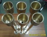 Recambios de torneado que trabajan a máquina del CNC de la precisión de cobre amarillo con el OEM