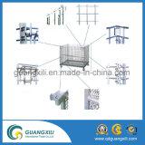 Contenedor de malla de alambre de hierro Cage de metal