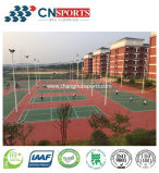 Sport-Gerichts-Bodenbelag für verschiedenes Spiel-Gericht mit RoHS, Cer, Iaaf, Itf Bescheinigungen