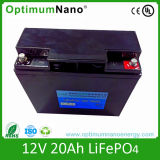 LiFePO4 Battery 12V 20ah per Solar Street Light, UPS