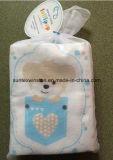 Tecido do bebê com jogo impresso algodão 100% da flanela