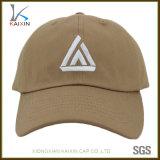 Изготовленный на заказ плоские бейсбольные кепки логоса вышивки с длинним Brim
