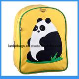 Kid el hombro de dibujos animados de la escuela Imprimir Mochila de poliéster Panda