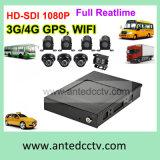 Sistema de vigilancia video del CCTV de la mejor alta definición para la flota del camión de los acoplados de los automóviles