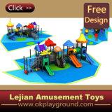 CE Terrain de jeux de plein air à Ocean Park en plastique (X1280-9)