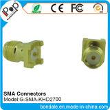 Connecteur coaxial de connecteurs de SMA Khd2700 pour le connecteur de SMA