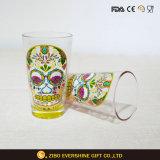 中国の工場ガラスコップの卸売ビールガラスのマグ