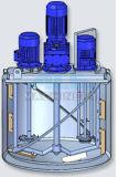 El tanque de mezcla de la calefacción sanitaria del acero inoxidable con el mezclador de alta velocidad (ACE-JBG-S7)