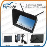 D49 32CH 5.8g разнообразия Rx Fpv RC801 Flysight черного жемчуга монитор 7 дюймов (синий экран) встроенный аккумулятор с входной разъем HDMI