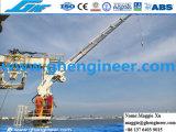 2,5 T22m articulado hidráulico de rotación del brazo de grúa de cubierta del buque marino