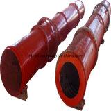 Tamburo essiccatore rotativo/asciugatrice e strumentazione