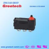 Commutateur micro imperméable à l'eau électrique d'appareil ménager avec RoHS et homologations d'UL