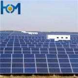 100W a 300W Double-Arc Panel Solar vidrio recubierto de vidrio para módulo FV