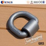 La goccia ad alta resistenza ha forgiato l'anello di Dee del acciaio al carbonio