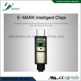 Grande tipo tipo Ce della spina di C, RoHS, FCC del USB 3.1 della corrente di colpo di fulmine 3 della video uscita di sostegno di cavo di C 3D