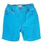 Kid's pure couleur bleu denim shorts en été