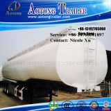 3 차축 30t Flammable Liquid Fuel Oil Chemical Tank Semi Truck Trailer (50m³) (LAT9402GRY)