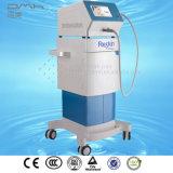 El chorro de alta presión hidrata profundamente la piel que aprieta el dispositivo antienvejecedor