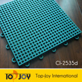 Suelos de plástico deportes Deportes de enclavamiento para azulejos pavimentos