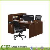 Tableau droit de personnel de bureau de poste de travail de compartiment de bureau de 4 portées