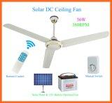 380rpmパキスタンの市場のための太陽DC12Vの天井に付いている扇風機