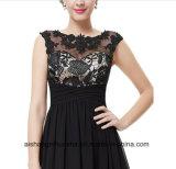 Frauen kleidet elegante Fußboden-Länge Hochzeitsfest-Brautjunfer Abschlussball-Kleid