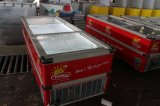 congelador de vidro enorme da porta de 2.5m (SD/SC-980)