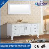 Governo di stanza da bagno antico superiore di marmo naturale di legno solido