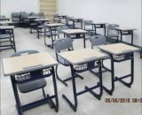 Mobília de escola de madeira, cadeira de Studen, mesa do estudante